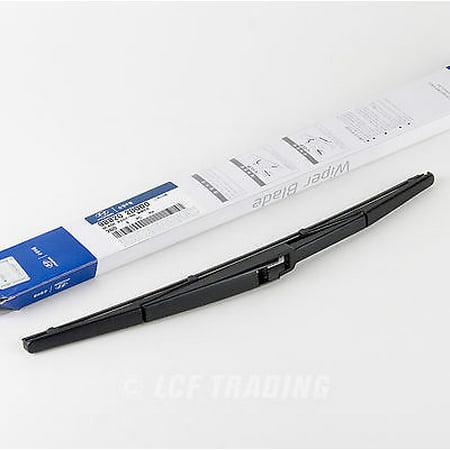Genuine Part Wiper (Genuine OEM Hyundai Sante Fe Rear Wiper Blade ASSY - RR part #98820 2B000 1PC -Genuine)