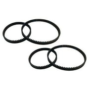 (2) Belt Sets for Bissell ProHeat 2X (203-6688 & 203-6804)