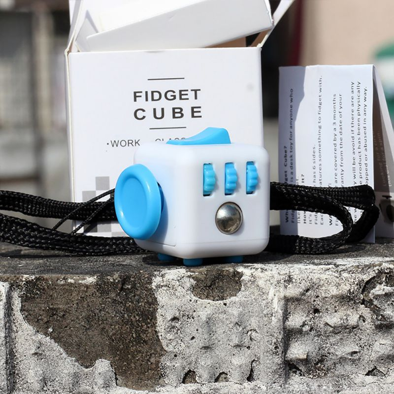 CHLTRA Ridiculous Fidget Cube Funny Squeeze Toy New Style Relieves Anxiety and Stress