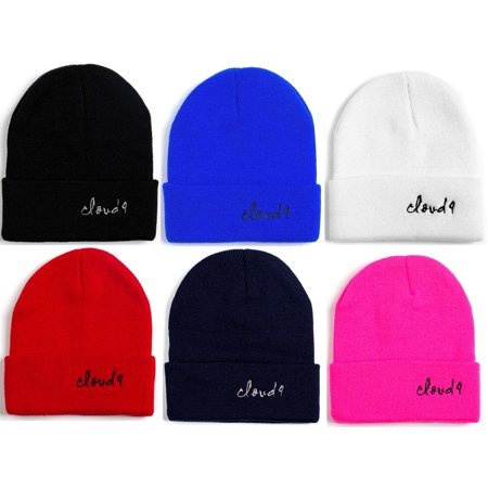 Cloud 9 - Kids Unisex Beanie Cap Knitted Warm Soft Solid Color 100% Acrylic Boys and Girls (1-7 years old)(1 PC ONLY, Choose your color)