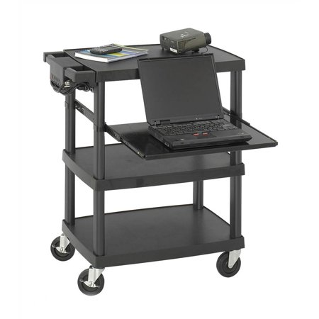 Multi-Media Projector Cart in Black Finish