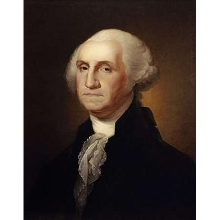 Bentley Global Arts PDX282654SMALL George Washington Poster Print by Rembrandt Peale, 11 x 14 - Small
