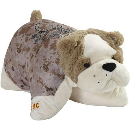 Animal Folding Pillows : Pillow Pet Marine Camo 18 Inch Folding - Walmart.com