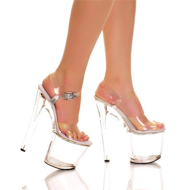 Highest Heel FANTASY-51-CLR-CLEA-11 7.5