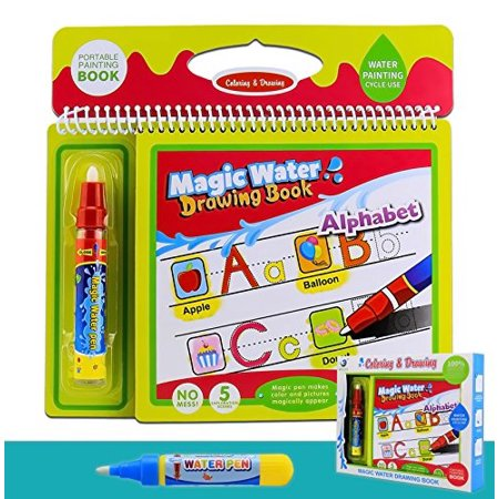 Colouring Doodle Book For Kids Tracing Drawing Reusable Water