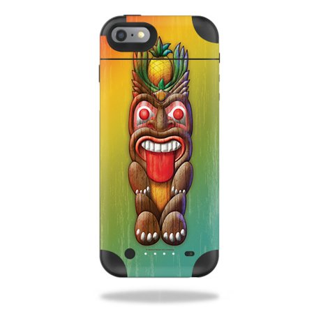 Skin For Mophie Juice Pack Air iPhone 6 – Tiki Man   MightySkins Protective, Durable, and Unique Vinyl Decal wrap cover   Easy To Apply, Remove, and Change Styles   - Tiki Man