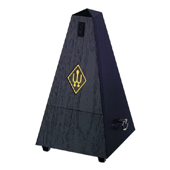 Wittner 845161 Plastic Casing Pyramid Metronome Without Bell, Black by Wittner