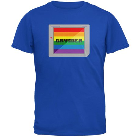 LGBT Halloween Handheld Gamer Gaymer Costume Mens T Shirt - Gamer Costume Ideas