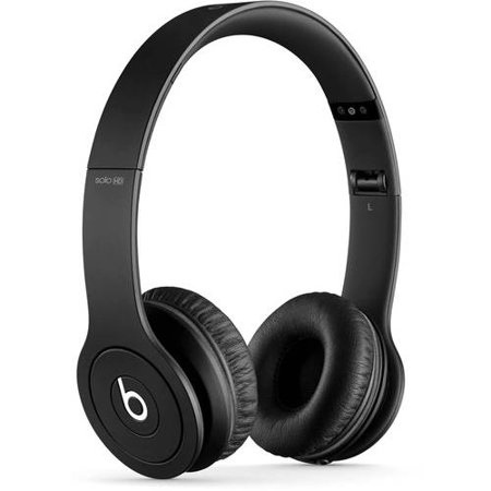 Beats by Dr. Dre Drenched Solo On-Ear Headphones, Assorted Colors, Black
