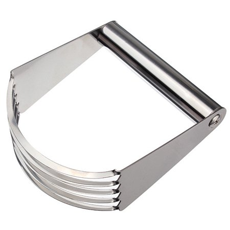 - Stainless Steel Pastry Blender Cake Bread Cream Cutter Tool Kitchen Cook 5 Sturdy Blades