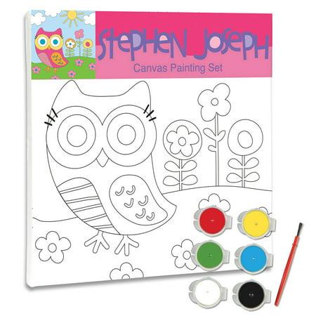 Craft Canvas Set, Owl - Canvas Crafts
