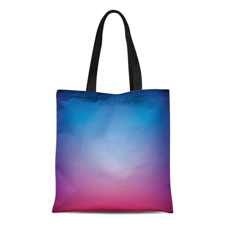 NUDECOR Canvas Bag Resuable Tote Grocery Shopping Bags Blue Cool Abstract Mesh Color Gradient Purple Blurred Luxury Multicolor Tote Bag - image 1 de 1