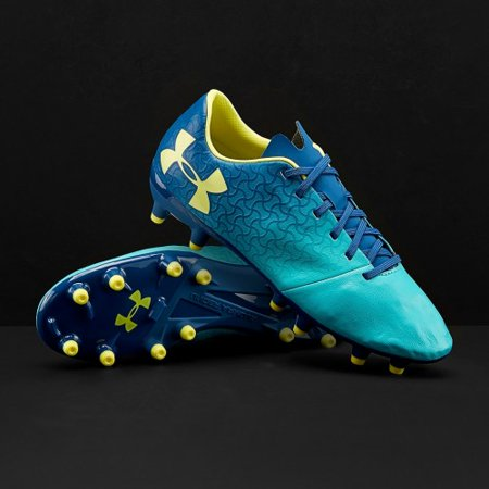 83459dd29 New Under Armour Magnetico Select FG JR Teal Blue Youth 4.5 Molded Cleats -  Walmart.com