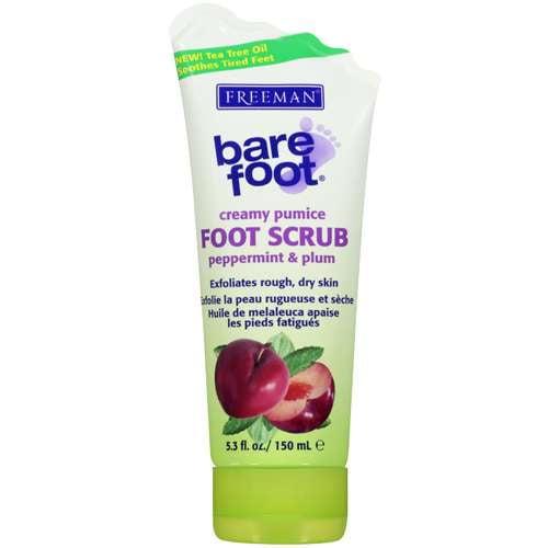 Freeman Bare Foot Creamy Pumice Foot Scrub, 5.3 fl oz