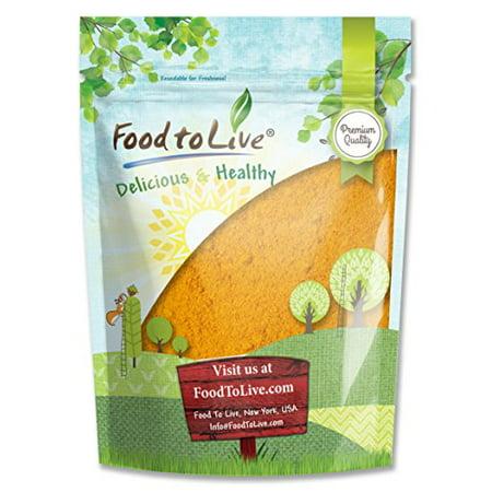 Food To Live   Turmeric Powder  Ground Turmeric Root   8 Ounces