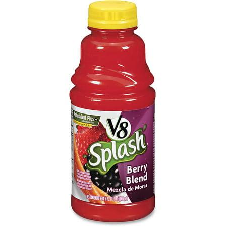 Fruit Splash - V8 Splash Berry Blend Fruit Juice, 16 Fl. Oz.