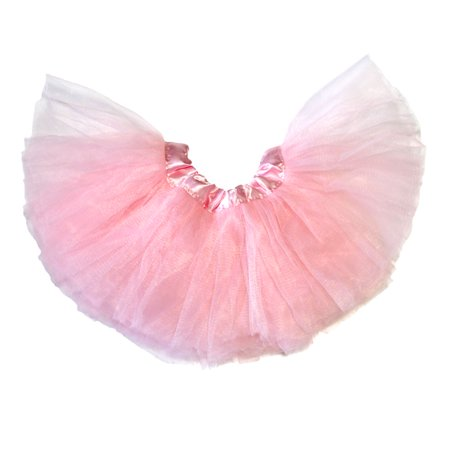 Baby Tutu 5-Layer Ballerina Light Pink - Superwoman Tutu