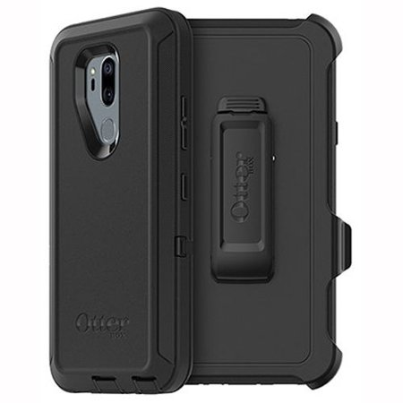 OtterBox Defender Series Protective Case and Holster for LG G7 ThinQ - Black ()