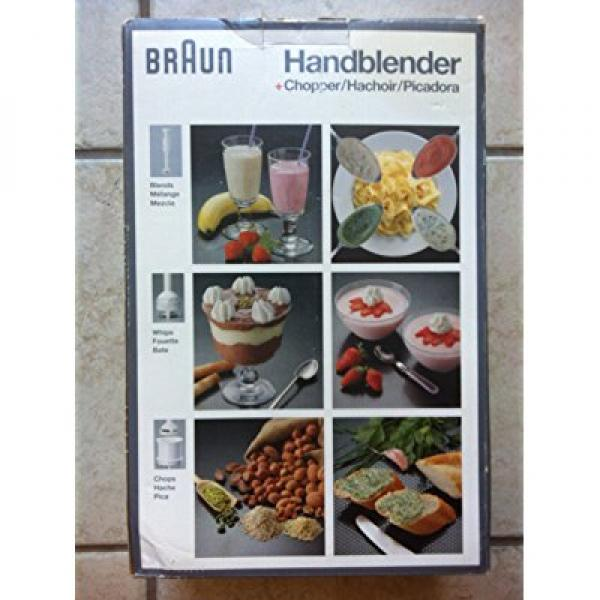 Braun Hand Blender + Chopper MR 370