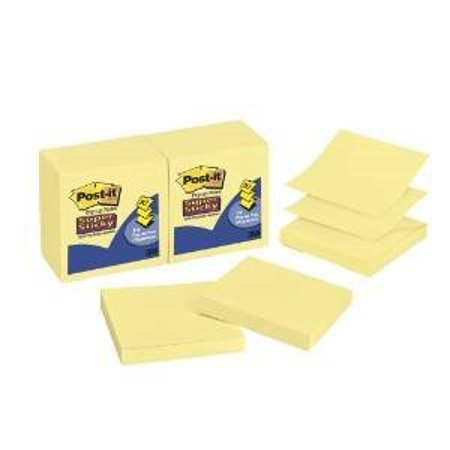 buy bulk post it super sticky pop up notes 3 x 3 inches canary