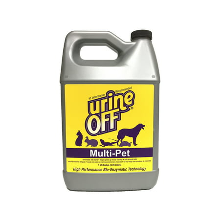 Urine Off Multi-Pet Gallon - Urine Off Wipes