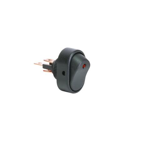 OLS 12V DC 30A 3-Pin SPST LED On/Off Rocker Switch - (30a Spst Electronic)