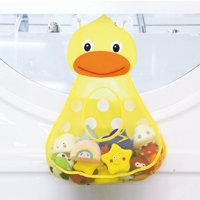 Outtop Baby Bathtub Toy Mesh Duck Storage Bag Organizer Holder Bathroom Organiser