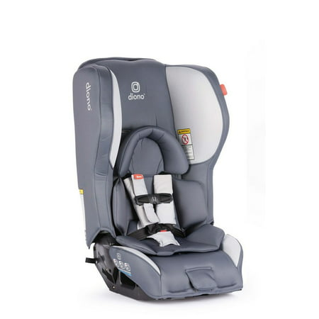 Diono Rainier 2AX Latch Convertible Car Seat, Dark Grey