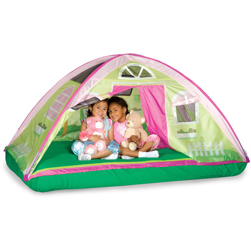 Pacific Play Tents Cottage Bed Tent Twin  sc 1 st  Walmart : twin bed tent walmart - memphite.com