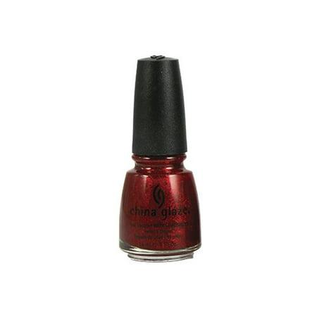 China Glaze Nail Polish, Ruby Pumps, 0.5 Ounce