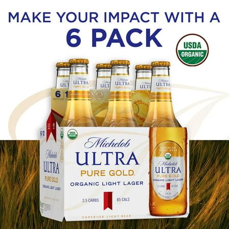 Michelob Ultra Pure Gold Organic Light