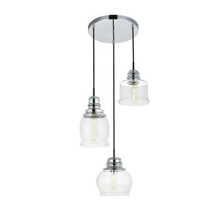 3 light cluster pendant living room gracie oaks zayn 3light cluster pendant walmartcom