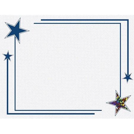 Stamp Folio (Rising Star Holographic foil Certificates,8.5 x 11
