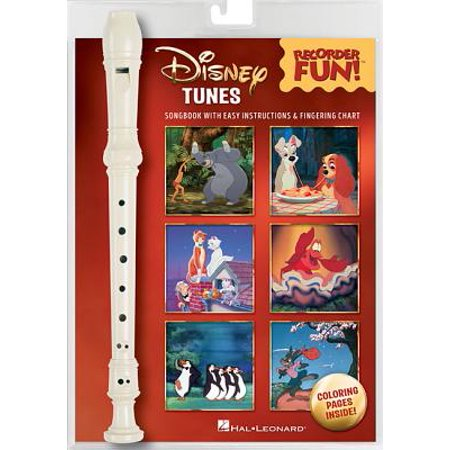 Disney Tunes - Recorder Fun! : Pack with Songbook and (Word Music Songbook)
