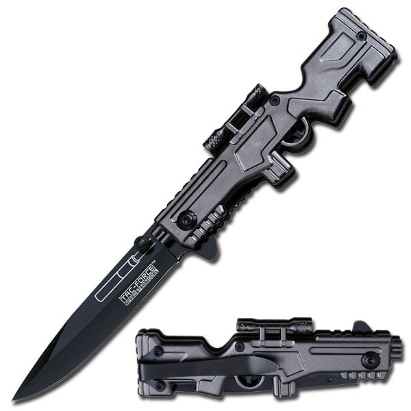 Tac Force TF-772GY Assisted Open Folding Knife 4.5in Closed