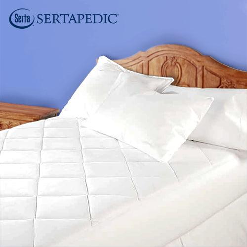 Sertapedic Ultimate Protection Waterproof Mattress Pad