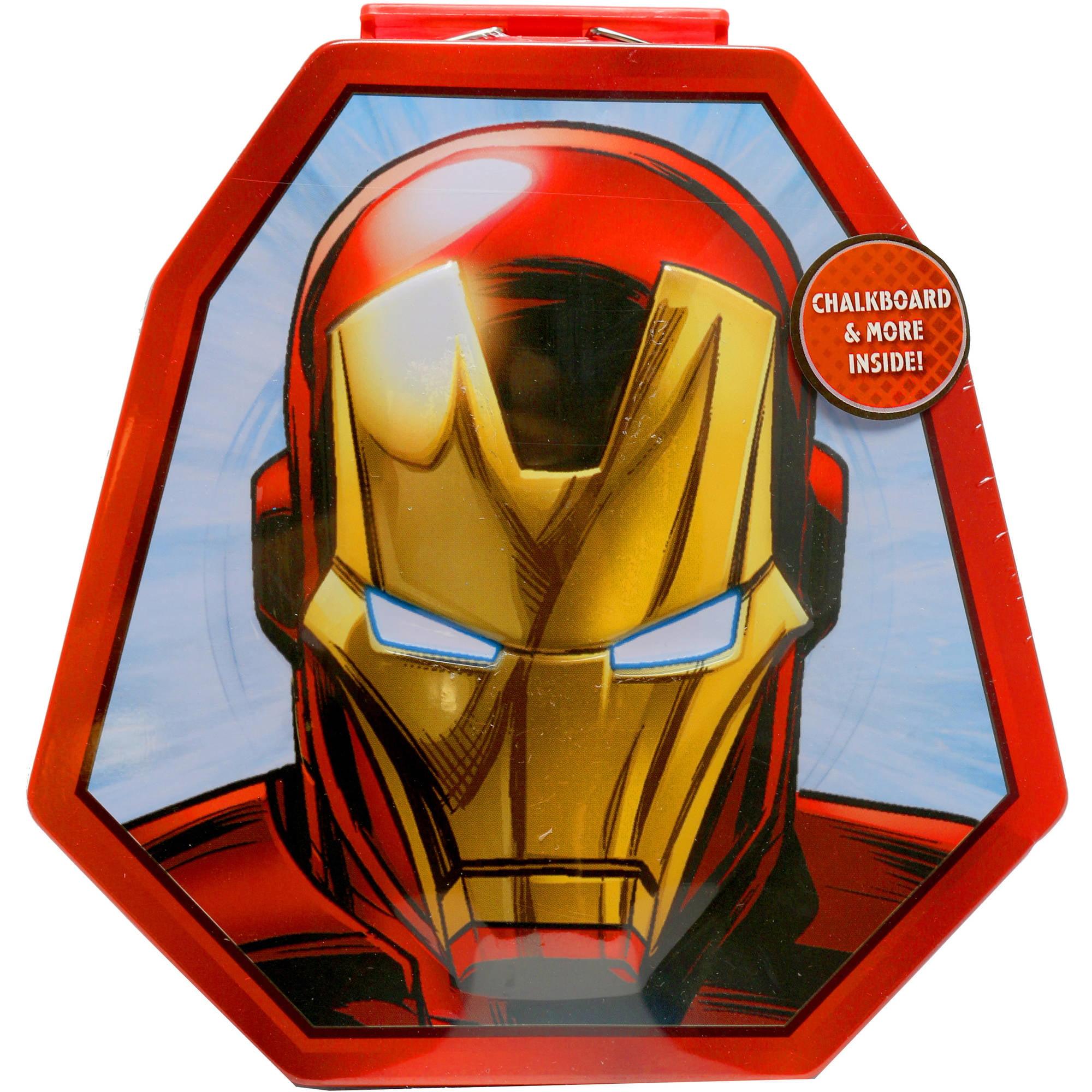 Ironman Chalkboard Activity Case by Tara Toy Corporation