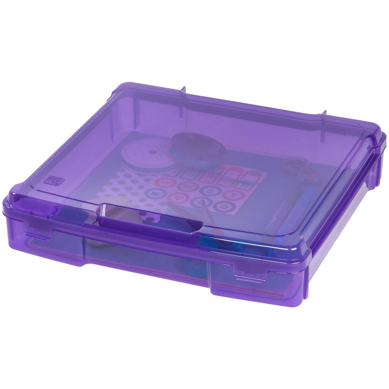 IRIS Scrapbook Portable Project Case for 12 x 12 Inch Scrapbook
