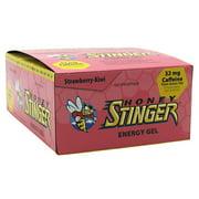 Honey Stinger Organic Energy Gel, Strawberry Kiwi, 24 Ct