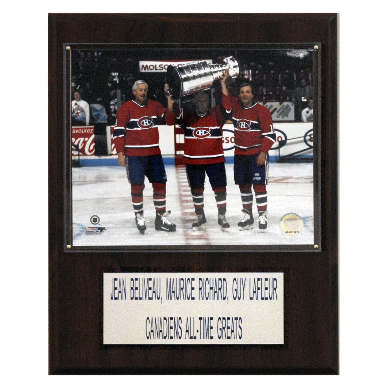 C&I Collectables NHL 12x15 Beliveau-Richard-Lafleur Montreal Canadiens Player Plaque