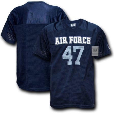 RapDom Air Force  47 Mens Football Practice Jersey  Navy Blue - M  -  Walmart.com 6b651505a
