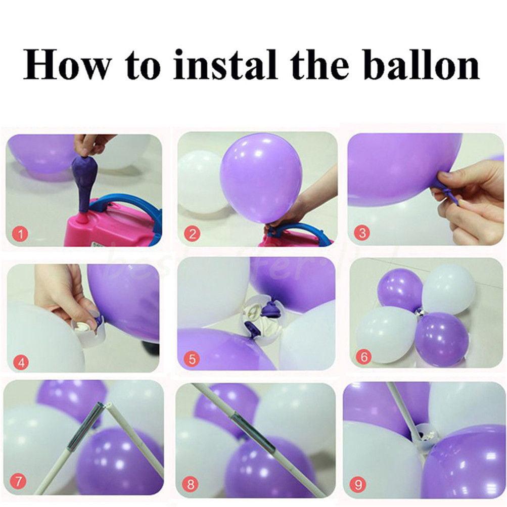 DIY Balloon Arch Frame Kit Column Water Base Stand Wedding Birthday ...