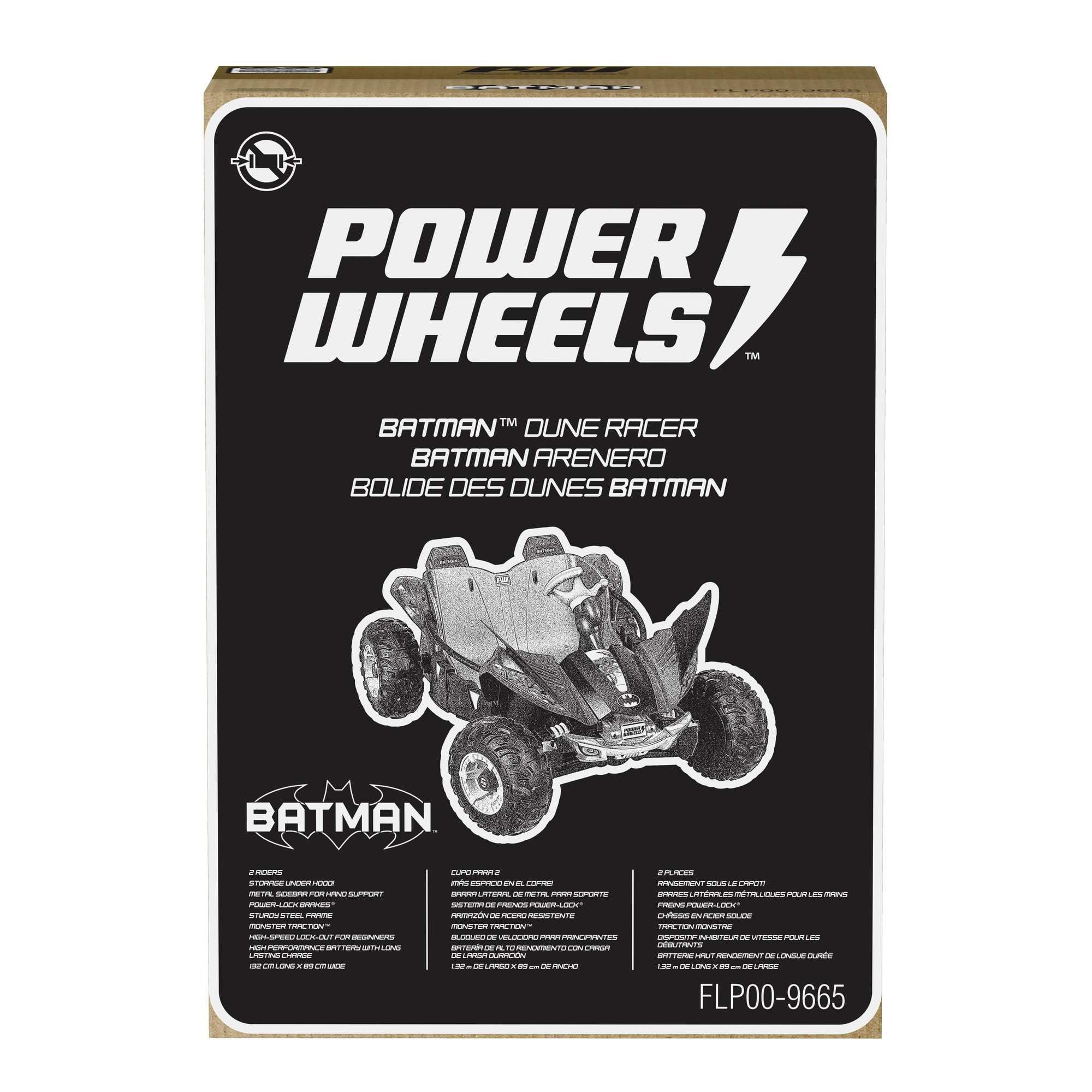 Power Wheels Batman Dune Racer Battery-Powered Ride-On Vehicle