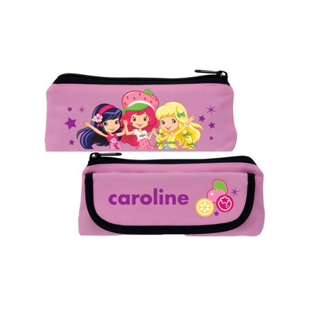 Personalized Strawberry Shortcake Berry Best Friends Pink Pencil Case