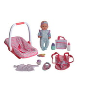"""Dream Collection 16"""" Baby Doll with Carrier & Accessories"""
