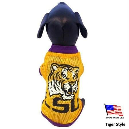 LSU Tigers Athletic Mesh Pet Jersey - Medium - Tiger - image 2 of 2