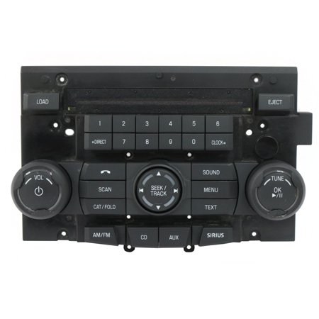 Ford Focus 2008 Factory OEM Radio Control Panel Only Part Number 8S4T-18A802-BHW - Refurbished