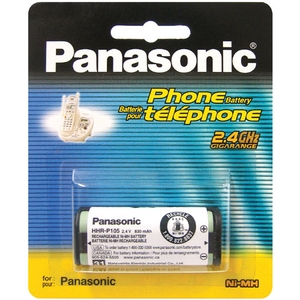 Panasonic HHR-P105A 2.4V NiMH Rechargeable Battery