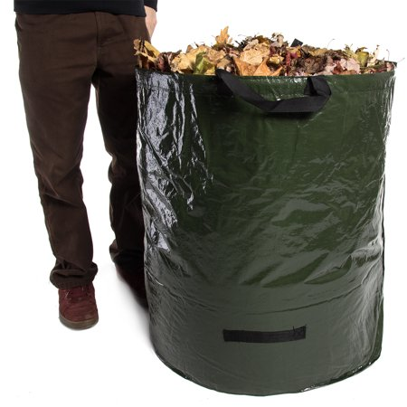 Large 72 Gallon Garden Bag Reusable Collapsible Leaf Collection Lawn Cleanup Yard Wastecomposting