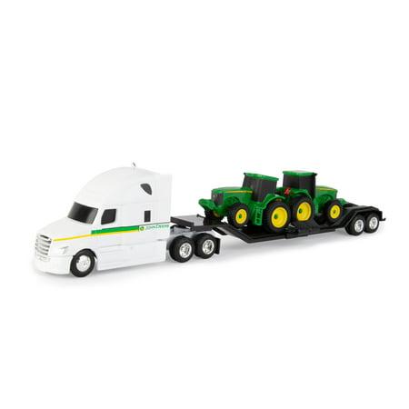 John Deere 1:64 Scale Semi Truck with Tractors - 1 Truck per order